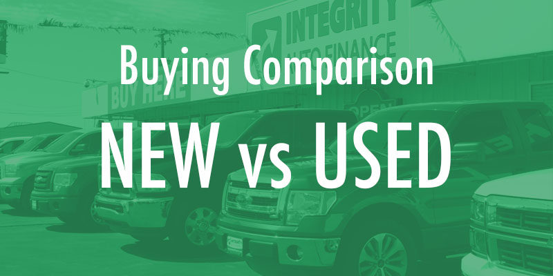 High-Quality Used Car vs. a New Car: Buying Comparison