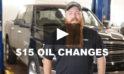 $15 Oil Change Program & Regular Maintenance [video]