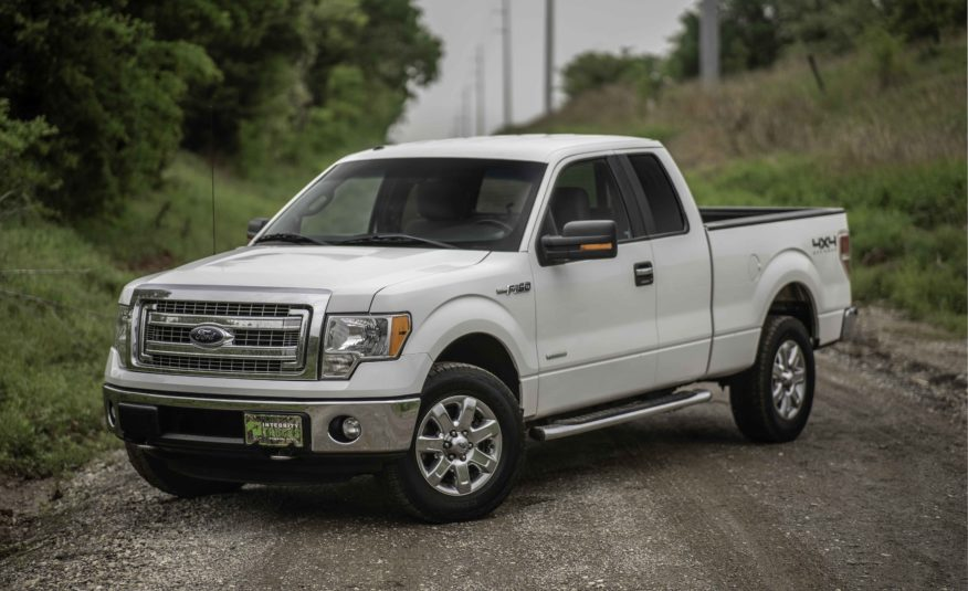 2013 Ford F-150 XLT 4X4 – Stock # E81846