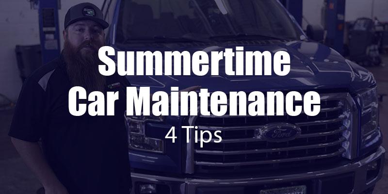 4 Tips for Summertime Car Maintenance [video]