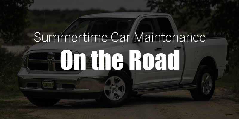 Summertime Car Maintenance: On the Road