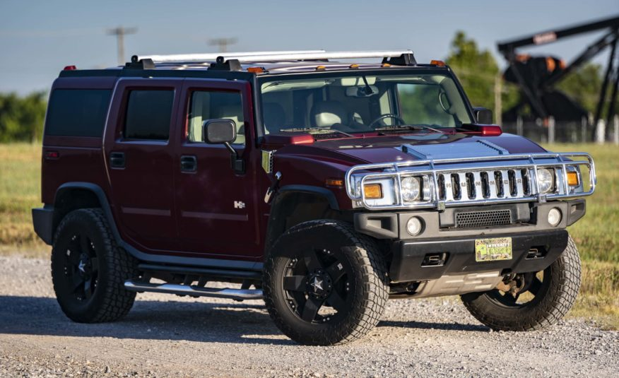 03 Hummer H2 4×4 – Stock # 109034R1