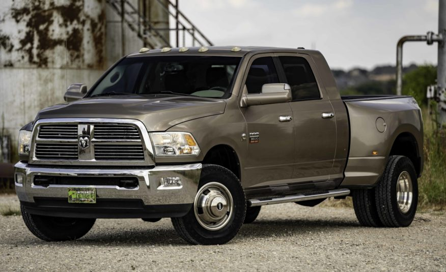 2010 Dodge Ram 3500 Megacab Dually 4×4 **6.7L Cummins Diesel** – Stock # 154735
