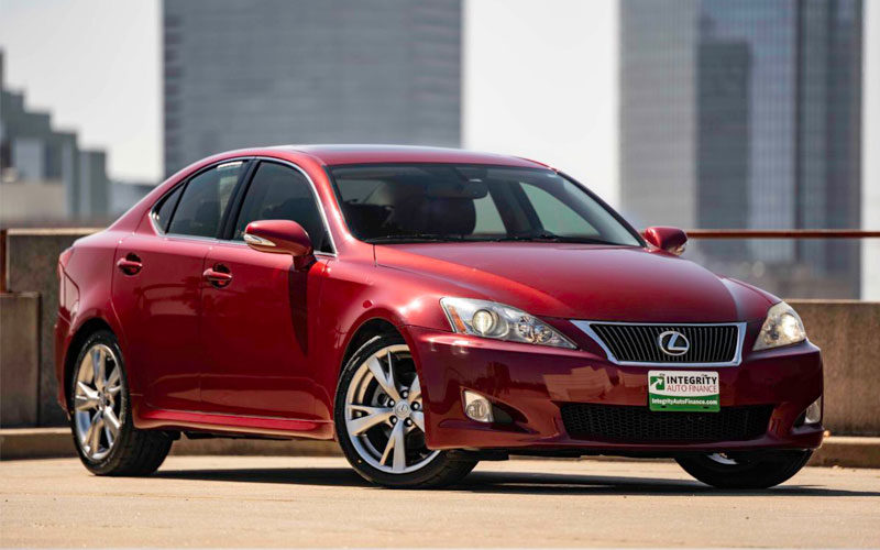 Test Drive with Integrity: Lexus IS 250