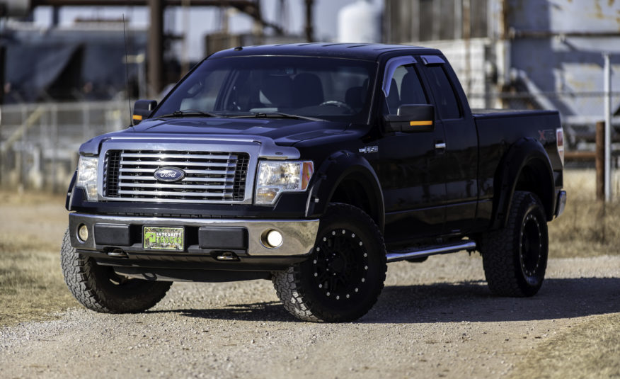 2011 Ford F-150 STX 4×4 – Stock # A01191