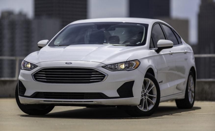 2019 Ford Fusion SE Hybrid – Stock # 224940