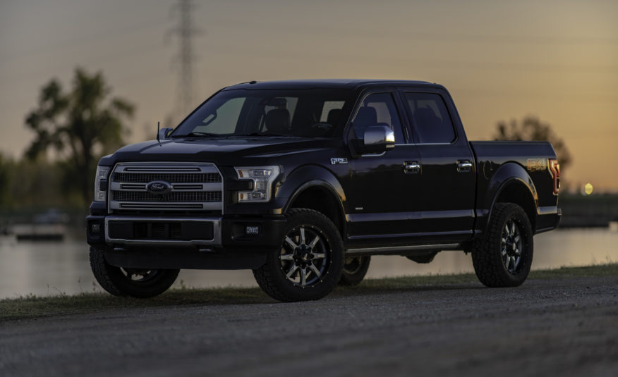 **SOLD** 2015 Ford F-150 Platinum FX4 – Stock # 47075