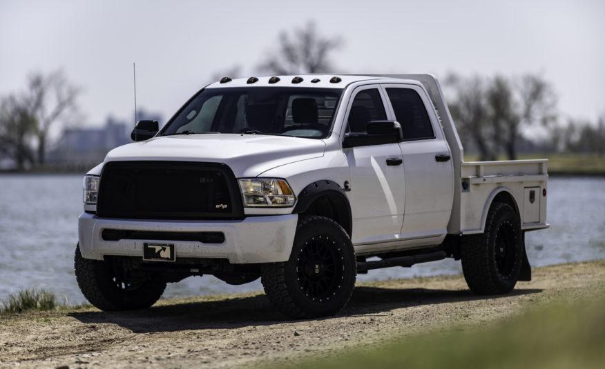 2015 RAM 2500 Flatbed **6.7L CUMMINS & 4WD** – Stock #  601184R1