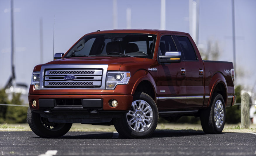 2014 Ford F-150 Platinum 4WD – Stock # A12417