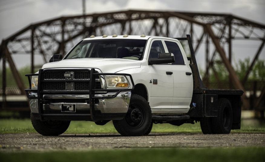 **SOLD** 2012 RAM 3500 4WD **6.7L Cummins Diesel** – Stock # 193825