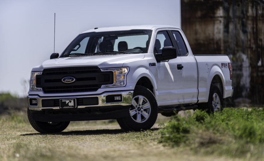 2018 Ford F-150 4WD XL FX4 – Stock # 43672